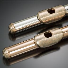 Mokume Gane Flute Parts