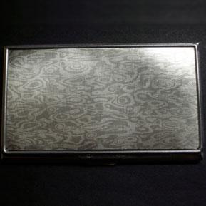 Mokume Gane Business Card Case